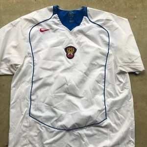 Nike Russia 90 soccer jersey World Cup white blue